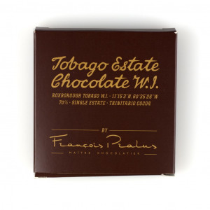 Tobago Estate Chocolate 70% 50g Vorderseite