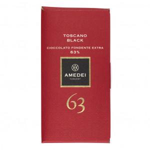 Amedei Toscano Black 63% Vorderseite