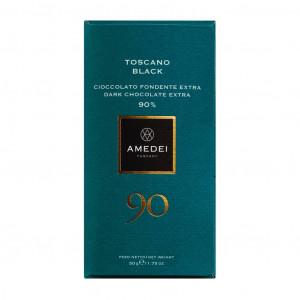 Amedei Toscano Black 90% Vorderseite