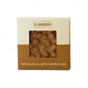 D.Barbero Cioccolato al latte con nocciole 120g