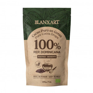 Blanxart pure Cocoa Drops Rep. Dominicana 100%