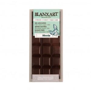 Blanxart Cuídate Chocolate Negro con Edulcorantes 74%