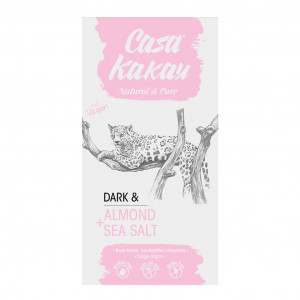 Casa Kakau Dark Almond Sea Salt 70%