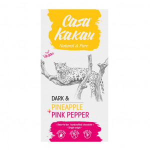Casa Kakau Dark Pineapple pink Pepper 70%
