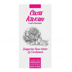 Casa Kakau Dark Bulgarien Rose Water, Cardamom 66%