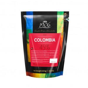 CasaLuker Kuvertüre Columbia 45% Vorderseite