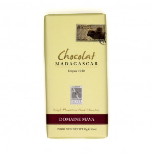 Robert Chocolat Madagascar Single Plantation Domaine Mava 85% Vorderseite