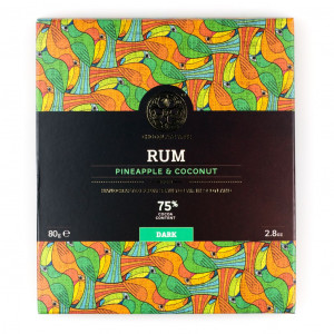 Chocolate Tree Rum Pineapple Coconut Vorderseite