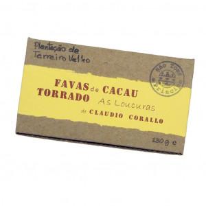 Claudio Corallo Favas de Cacau 130g Vorderseite