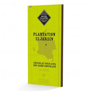 Michel Cluizel Plantation El Jardin Noir 69% Vorderseite