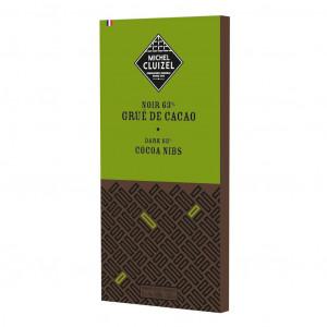 Michel Cluizel Noir Grué de Cacao 63% Vorderseite