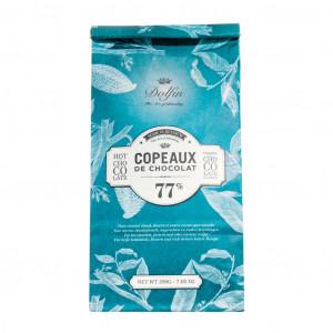 Dolfin Copeaux de Chocolat 77% Vorderseite