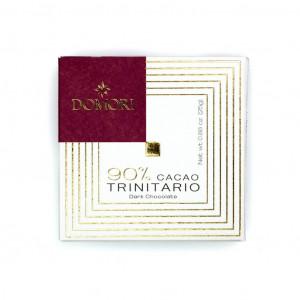 Domori Trinitario 90% Vorderseite