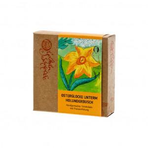 Goldhelm Schokoladen Manufaktur Osterglocke unterm Holunderbusch