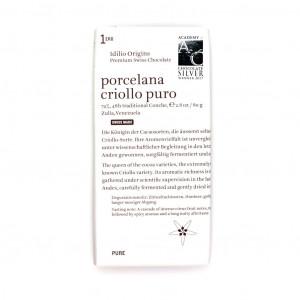 Idilio Origins 1ero Porcelana Criollo Puro 74% Vorderseite