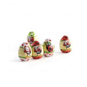Majani Tütchen mit Stanniol Ostereiern Marienkäfer