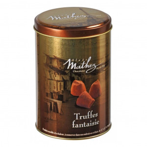 Mathez Truffes Fantaisie Cacao powdered Truffles 500g gold