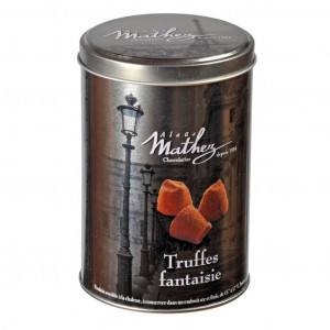 Mathez Truffes Fantaisie Cacao powdered Truffles 500g silber