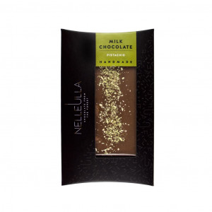 Nelleulla Milk Chocolate Pistachio 30% Vorderseite