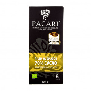 Pacari Peru Piura Quemazón 70% Vorderseite
