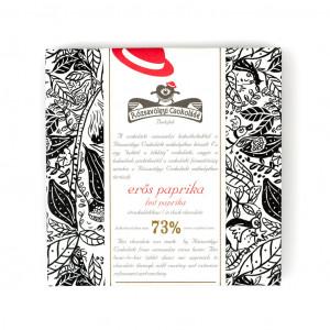 Rózsavölgyi Csokoládé Hot Paprika 73% Vorderseite