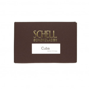 Schell Schokoladen Cuba 70% Vorderseite