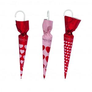 Simón Coll Regenschirm mit Herzen 3 Stück