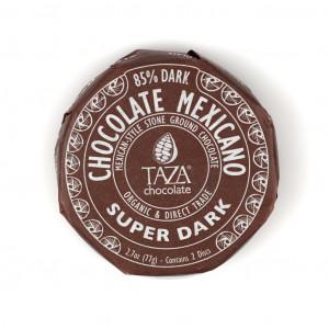 Taza Chocolate Mexicano Super Dark 85% Vorderseite