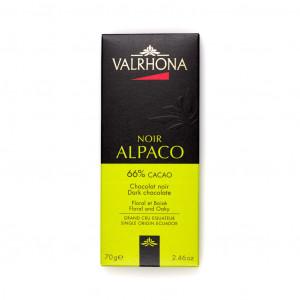Valrhona Noir Alpaco 66% Vorderseite