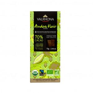 Valrhona Peru Andoa Noir 70% Vorderseite