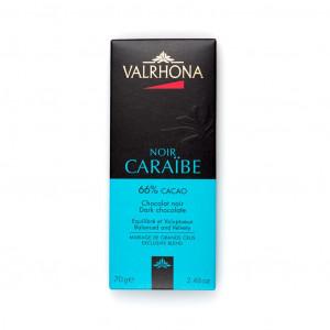 Valrhona Noir Caraïbe 66% Vorderseite