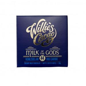 Willie's Cacao Venezuelan Rio Caribe Milk of Gods 44% Vorderseite