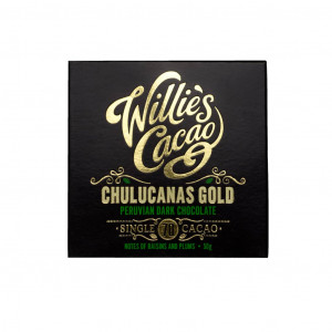 Willie's Cacao Peru Chulucanas Gold 70% Vorderseite