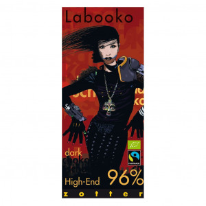 Zotter Labooko High- End 96% Vorderseite