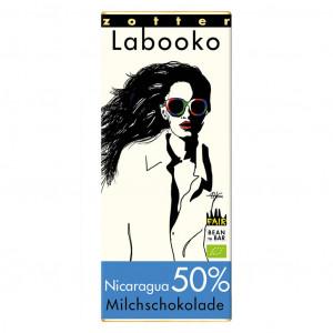Zotter Labooko Nicaragua 50% Neu Vorderseite