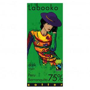 Zotter Labooko Peru Barranquita 75% Vorderseite