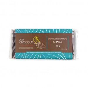 Ara Chocolat Chiapas 72% Vorderseite