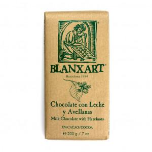 Blanxart Chocolate con Leche y Avellanas 33% Vorderseite