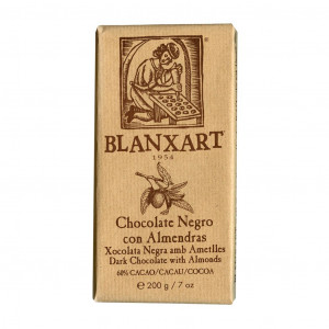 Blanxart Chocolate Negro con Almendras 60% Vorderseite