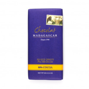 Robert Chocolat Madagascar Fine MilkChocolate 80%
