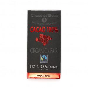 Chocolat Stella 100% Dark Vorderseite