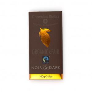 Chocolat Stella Dark 75% Vorderseite
