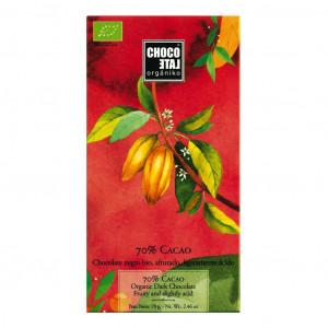 Chocolate Organico 70% Vorderseite