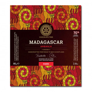 Chocolate Tree Madagascar Ambanja 70% Vorderseite