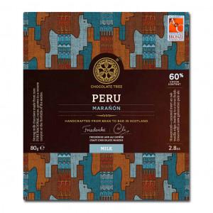 Chocolate Tree Peru Marañón 60% Vorderseite