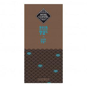Michel Cluizel Noir de Cacao 72% Vorderseite
