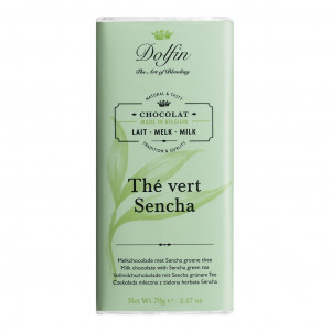 Dolfin The Vert Sencha 38%  Vorderseite