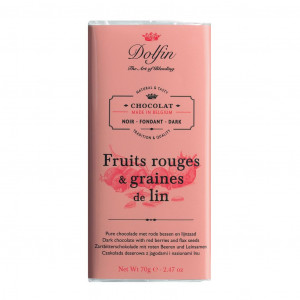 Dolfin Fruits rouges & graines de Lin 60% Vorderseite
