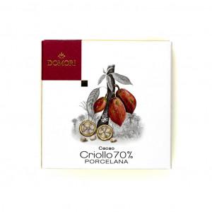 Domori Porcelana Cacao Criollo 50g Vorderseite