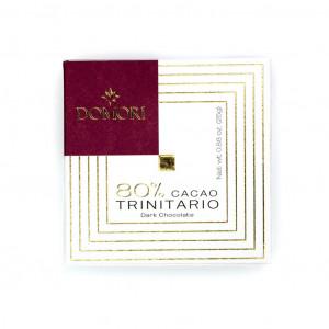 Domori Trinitario 80% Vorderseite